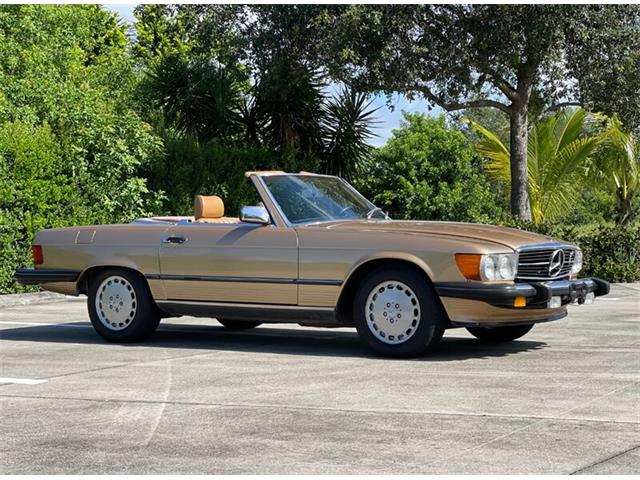 1987 Mercedes-Benz 560SL (CC-1515330) for sale in Boca Raton, Florida