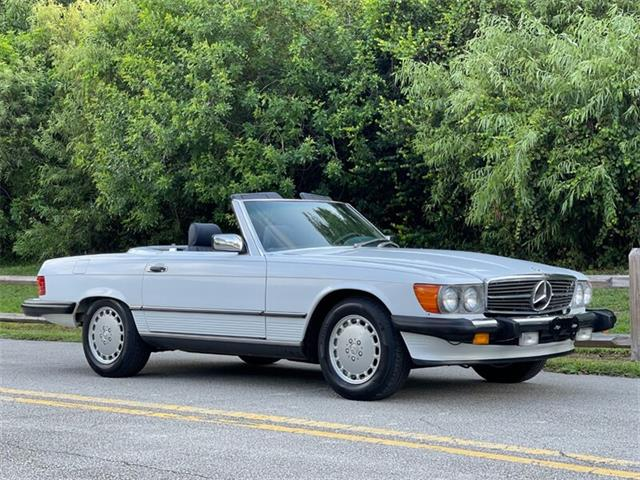 1987 Mercedes-Benz 560SL (CC-1515331) for sale in Boca Raton, Florida