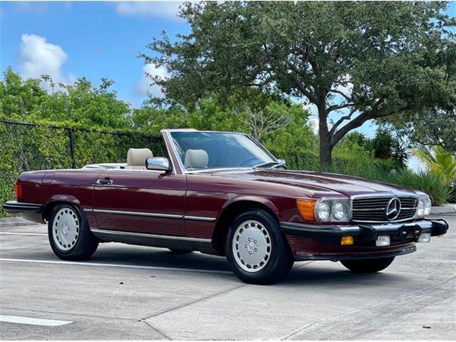 1988 Mercedes-Benz 560SL (CC-1515332) for sale in Boca Raton, Florida