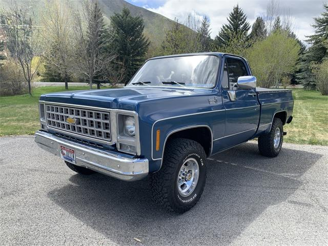1980 Chevrolet K-10 (CC-1515430) for sale in Hailey , Idaho