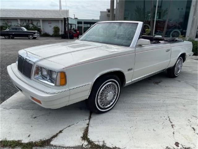 1986 Chrysler LeBaron (CC-1515784) for sale in Miami, Florida