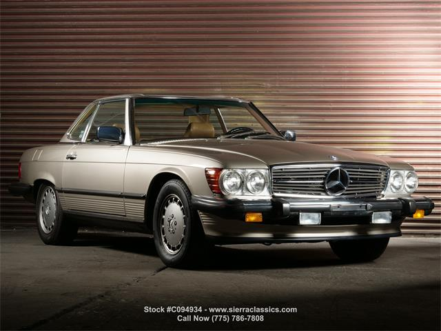 1989 Mercedes-Benz 560SL (CC-1515802) for sale in Reno, Nevada