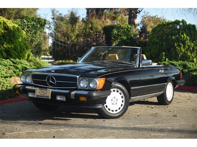 1988 Mercedes-Benz 560 (CC-1515847) for sale in Santa Barbara, California