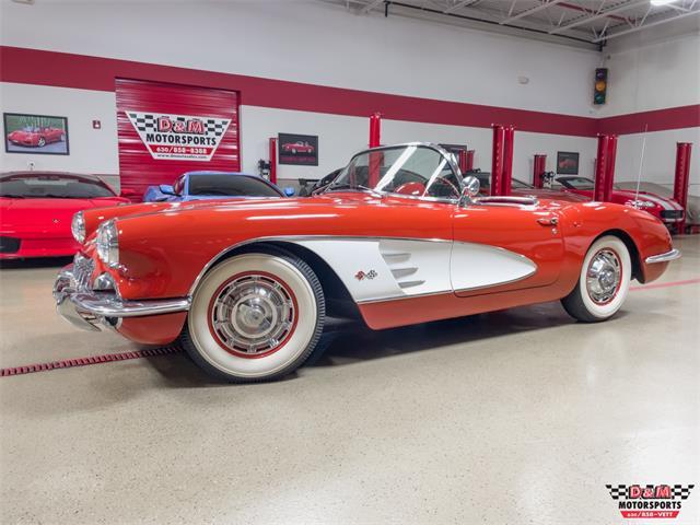 1960 Chevrolet Corvette (CC-1515868) for sale in Glen Ellyn, Illinois