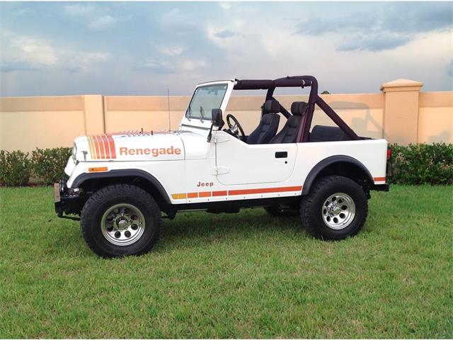1980 Jeep CJ7 (CC-1515936) for sale in Venice, Florida