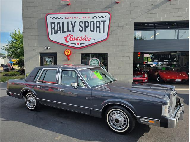 1985 Lincoln Town Car (CC-1515949) for sale in Canton, Ohio