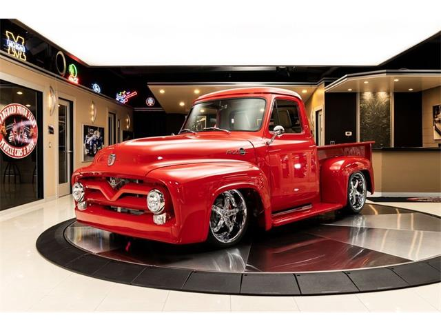 1955 Ford F100 (CC-1516071) for sale in Plymouth, Michigan