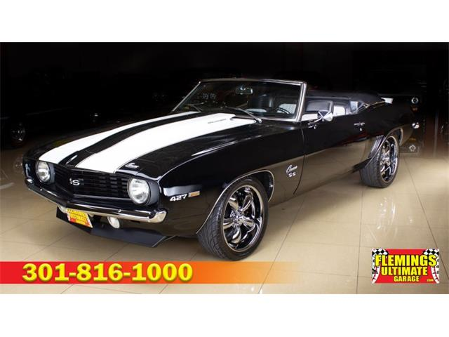 1969 Chevrolet Camaro (CC-1516186) for sale in Rockville, Maryland