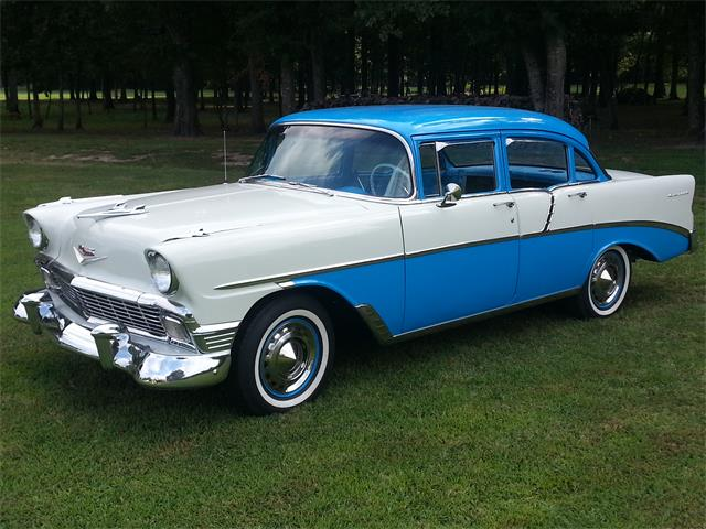1956 Chevrolet 4-Dr Sedan (CC-1516241) for sale in Winnsboro, Louisiana