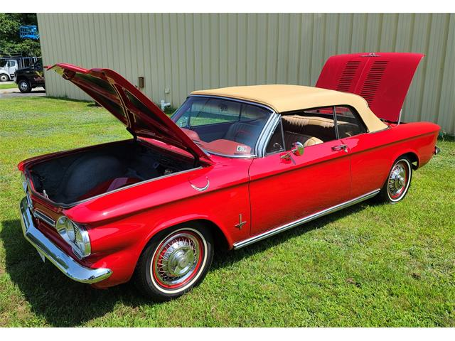 1962 Chevrolet Corvair Monza (CC-1516246) for sale in hopedale, Massachusetts