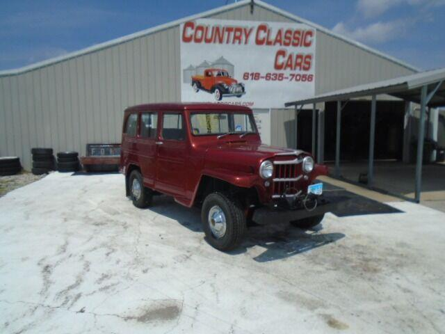 1963 Willys Wagoneer (CC-1516372) for sale in Staunton, Illinois