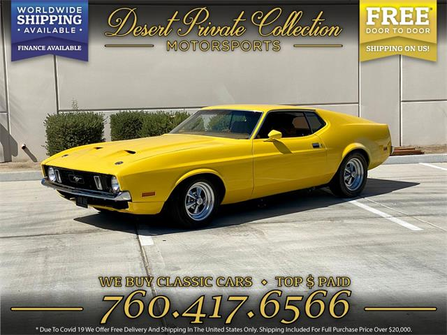 1973 Ford Mustang Mach 1 (CC-1516504) for sale in Palm Desert , California