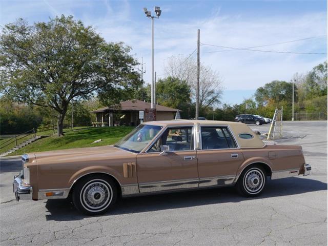 1983 Lincoln Continental Mark VI (CC-1516643) for sale in Alsip, Illinois