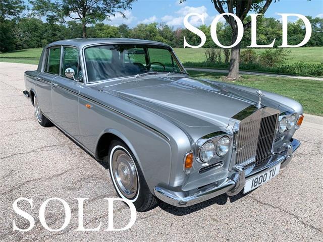 1968 Rolls-Royce Silver Shadow (CC-1516708) for sale in Carey, Illinois
