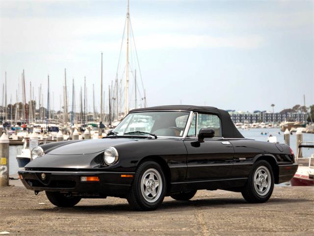 1991 Alfa Romeo Spider (CC-1510677) for sale in Marina Del Rey, California