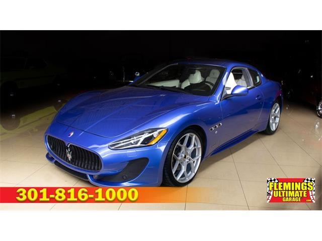 2015 Maserati GranTurismo (CC-1516884) for sale in Rockville, Maryland