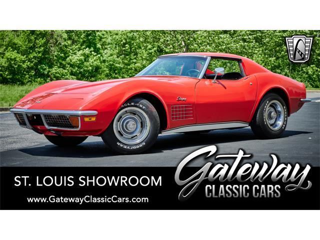 1972 Chevrolet Corvette (CC-1517202) for sale in O'Fallon, Illinois