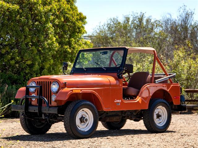 1976 Jeep CJ5 (CC-1510736) for sale in Marina Del Rey, California