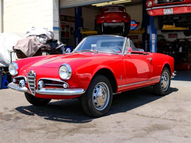 1960 Alfa Romeo Giulietta Spider (CC-1510743) for sale in Marina Del Rey, California
