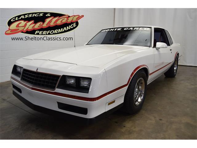 1986 Chevrolet Monte Carlo (CC-1517449) for sale in Mooresville, North Carolina