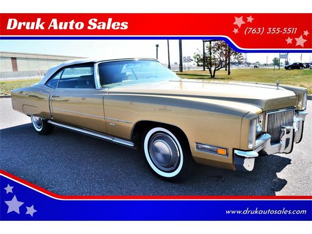 1971 Cadillac Eldorado (CC-1517494) for sale in Ramsey, Minnesota