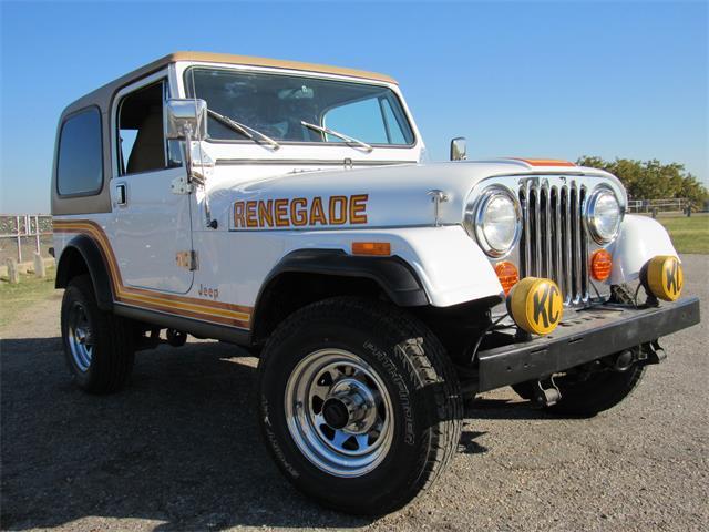 1985 Jeep CJ7 (CC-1517591) for sale in Belton, Texas
