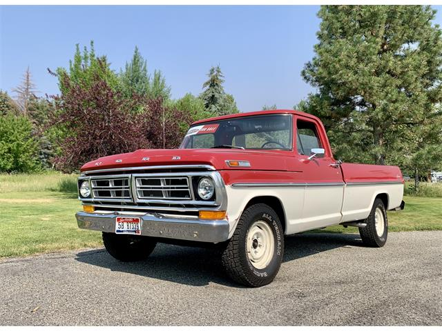 1972 Ford F100 (CC-1517600) for sale in Hailey, Idaho