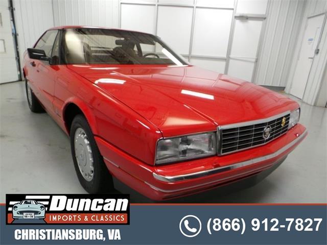 1988 Cadillac Allante (CC-1517609) for sale in Christiansburg, Virginia