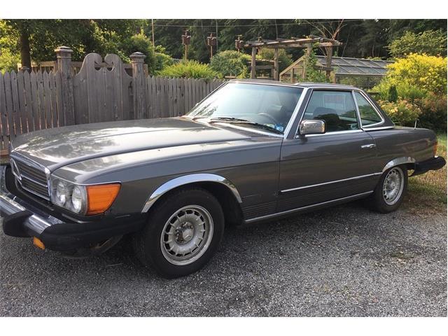 1984 Mercedes-Benz 380SL (CC-1517695) for sale in Hermitage, Pennsylvania