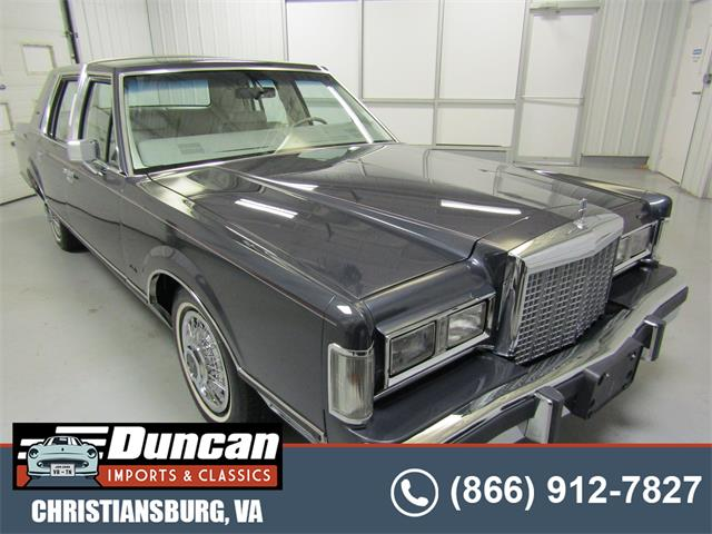 1985 Lincoln Town Car (CC-1517699) for sale in Christiansburg, Virginia