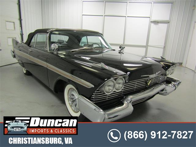 1958 Plymouth Belvedere (CC-1517797) for sale in Christiansburg, Virginia