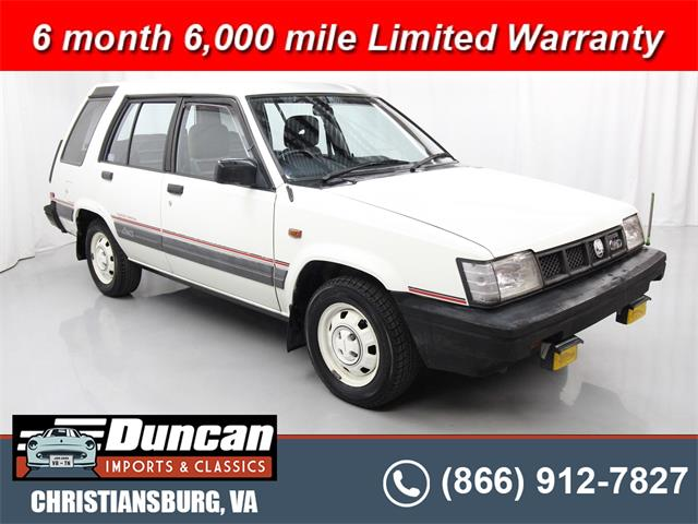 1987 Toyota Sprinter (CC-1517872) for sale in Christiansburg, Virginia