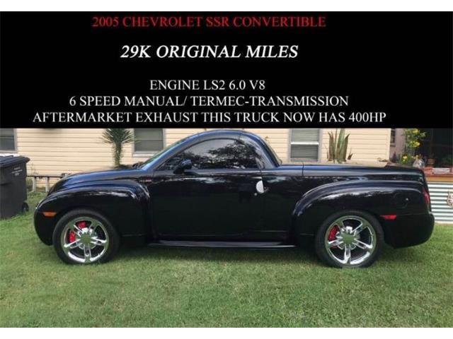 2005 Chevrolet SSR (CC-1517942) for sale in Cadillac, Michigan