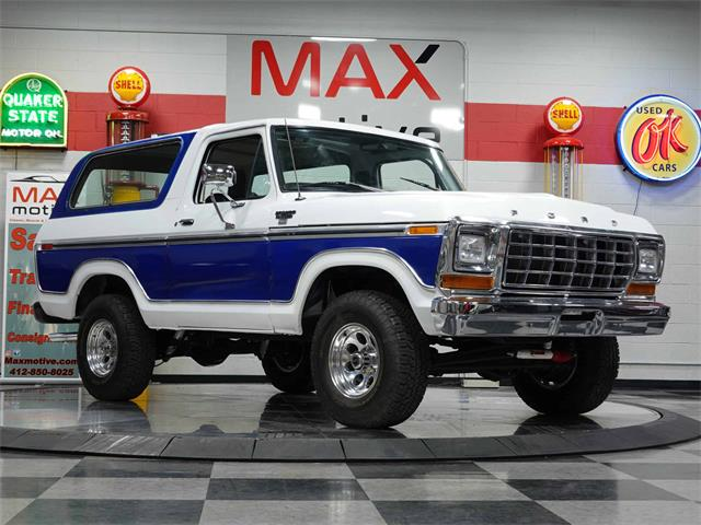 1979 Ford Bronco (CC-1517957) for sale in Pittsburgh, Pennsylvania