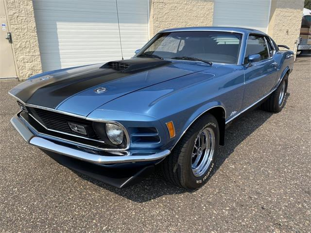 1970 Ford Mustang Mach 1 (CC-1510807) for sale in Ham Lake, Minnesota