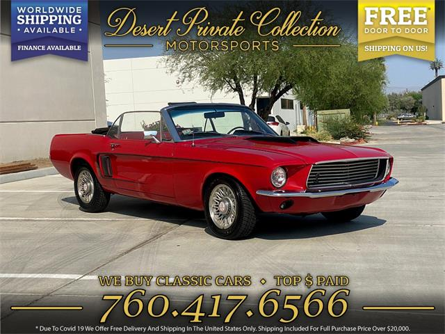 1967 Ford Mustang (CC-1518141) for sale in Palm Desert , California