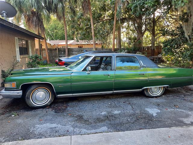 1975 Cadillac Fleetwood Brougham (CC-1518400) for sale in Holly Hill, Florida