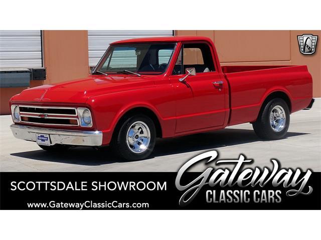 1967 Chevrolet C10 (CC-1518545) for sale in O'Fallon, Illinois