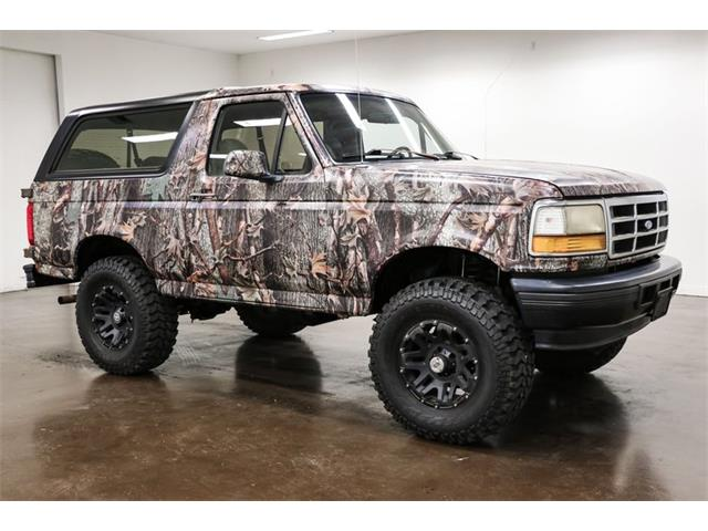 1996 Ford Bronco (CC-1518570) for sale in Sherman, Texas