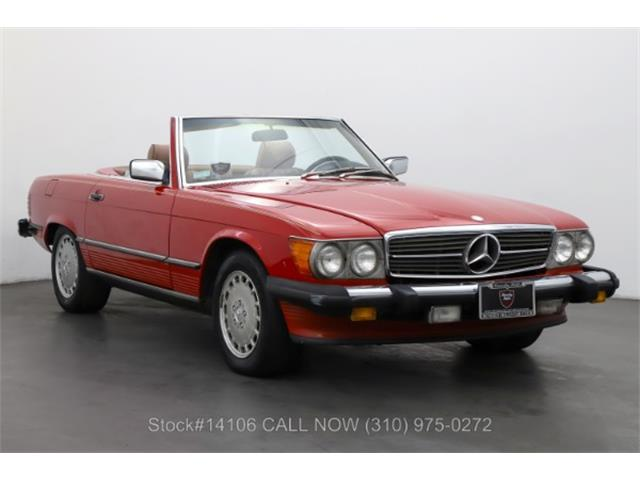 1986 Mercedes-Benz 560SL (CC-1518836) for sale in Beverly Hills, California