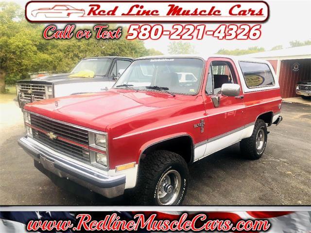 1984 Chevrolet Blazer (CC-1510889) for sale in Wilson, Oklahoma