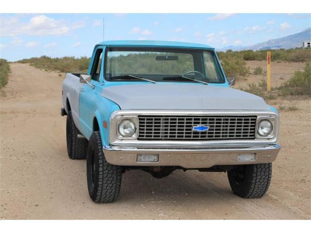 1972 Chevrolet K-10 (CC-1518896) for sale in Cadillac, Michigan