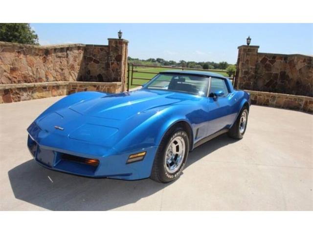 1981 Chevrolet Corvette (CC-1518920) for sale in Cadillac, Michigan