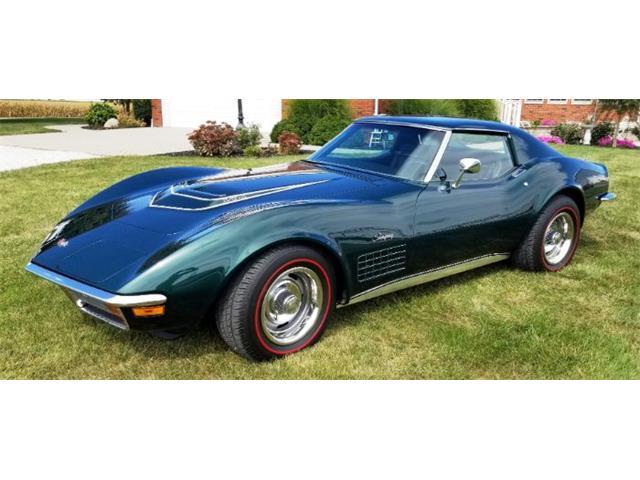 1971 Chevrolet Corvette (CC-1518947) for sale in Cadillac, Michigan