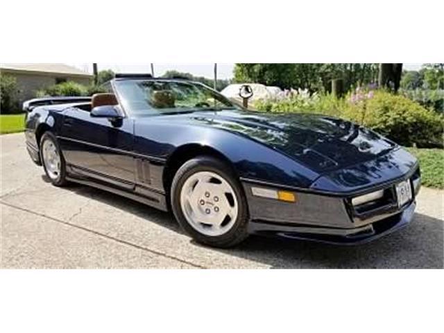 1989 Chevrolet Corvette (CC-1518957) for sale in Cadillac, Michigan
