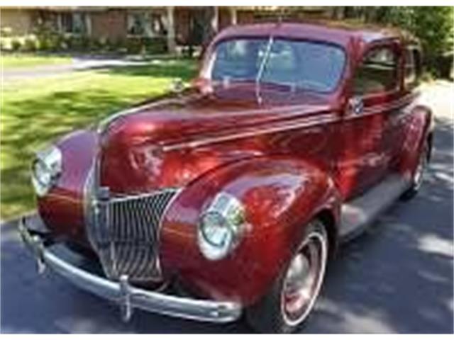 1940 Ford Custom (CC-1519046) for sale in Cadillac, Michigan