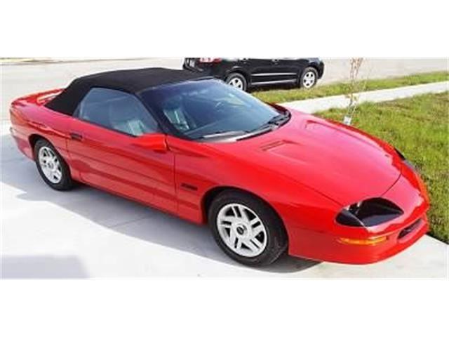1996 Chevrolet Camaro (CC-1519079) for sale in Cadillac, Michigan