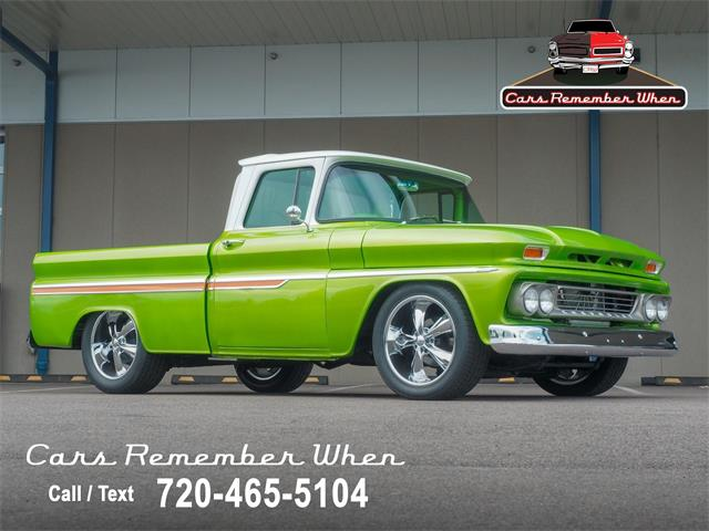 1963 Chevrolet C10 (CC-1519140) for sale in Englewood, Colorado
