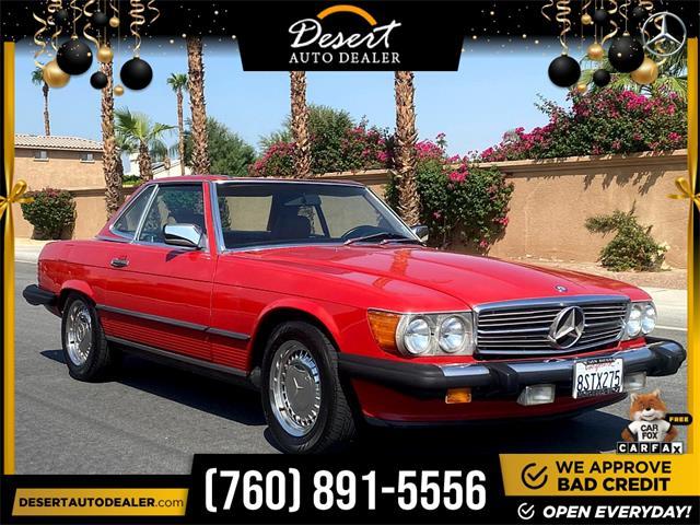 1986 Mercedes-Benz 560SL (CC-1519149) for sale in Palm Desert, California