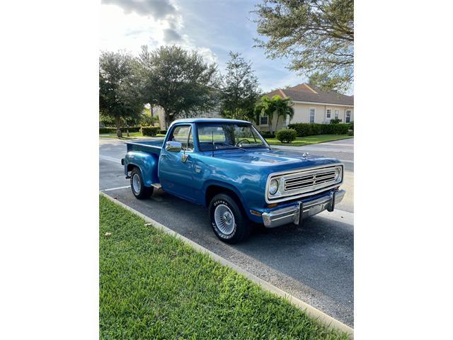 1973 Dodge D100 (CC-1519220) for sale in Jupiter , Florida